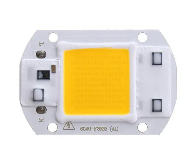 20W LED COB Chip (Warm White)