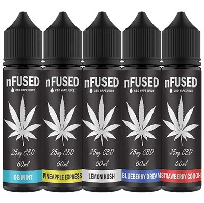 nfused 25mg cbd vape juice
