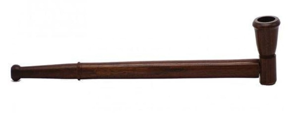 32cm wooden smoking pipe - product image