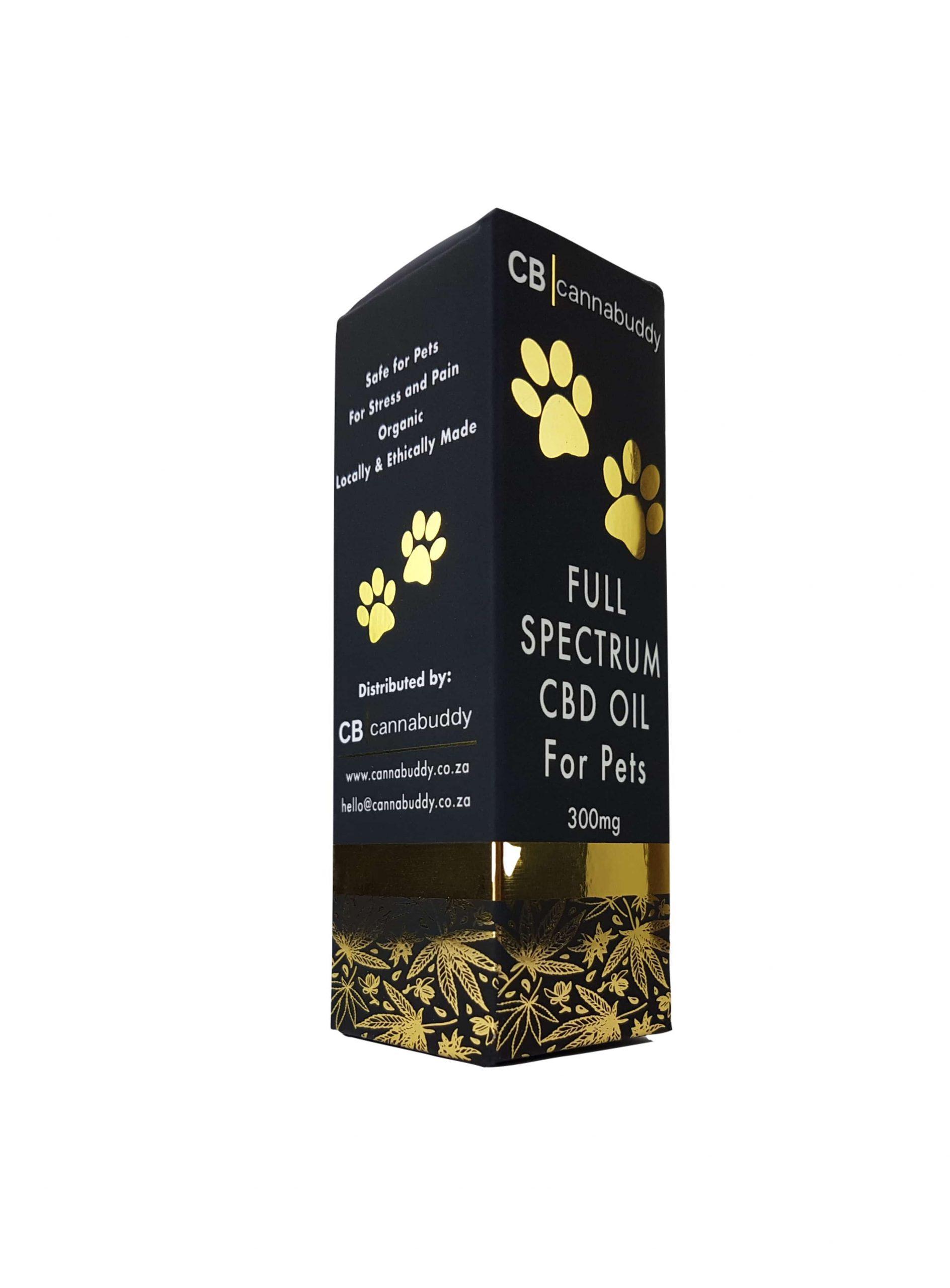 Cannabuddy 300mg Full-Spectrum CBD Oil For Pets